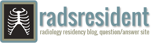 RadsResident Radiology Residency Blog